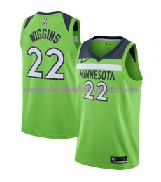 Minnesota Timberwolves Trikot Herren 2018-19 Andrew Wiggins 22# Statement Edition Basketball Trikots..